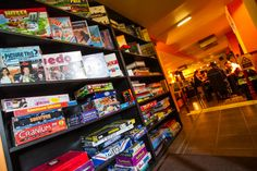 Play board games all day at Board Game Café Board Game Cafe, Board Games, Budapest, Places To Go, Ideas, Tabletop Games, Thoughts, Table Games