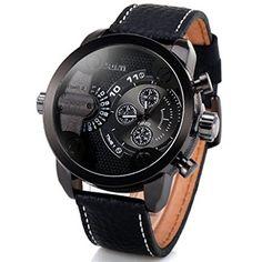 Oulm 腕時計 メンズ ウオッチ 2ヶ国時刻表示 男性用 腕時計 カジュアルデザイン スポーツ腕時計 Oulm http://www.amazon.co.jp/dp/B00LO1KQAI/ref=cm_sw_r_pi_dp_zR2Jwb0HKRQX0