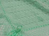 Resultado de imagem para manta de trico para bebe passo a passo