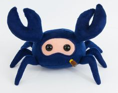 "Team Fortress 2 Spycrab 6 1/2"" Plush (Blue)"