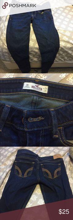Hollister jeans Dark blue size 0R skinny Hollister Jeans Skinny