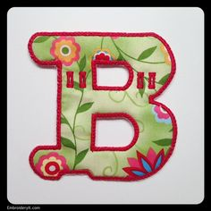 B - Embroidery It | Creative Embroidery Designs