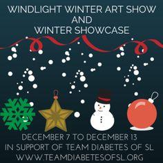 4m my Eyes: Windlight Winter Art Show and Winter Showcase