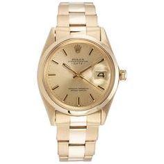Rolex Yellow Gold Automatic Wristwatch Ref 1500