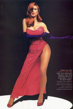 jolie halloween costume | Sexy Halloween Costume Ideas: 40 Hot Girls Dressed As Jessica Rabbit ...