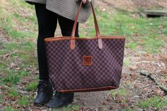 Spring Sweater - Barrington St. Anne tote - Dupe for Louis Vuitton Neverfull - How 2 Wear ItHow 2 Wear It
