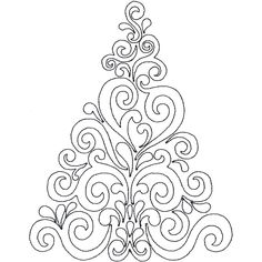 Christmas Tree Linework