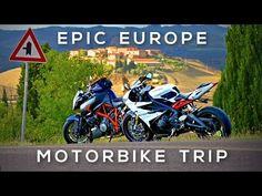 Epic Europe Motorcycle Roadtrip - London to Tuscany Summer 2015 - YouTube