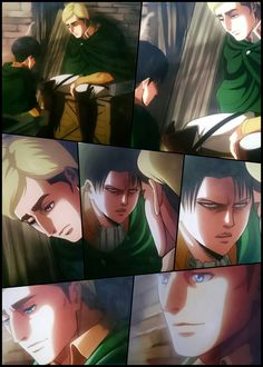 Levi's Promise |For Manga Readers| Ah Thats make me so fucking Emotional ♡ LOOK AT HOW AWSHUM R THEY