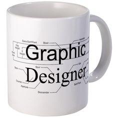 graphic designer mug, so nerdy! love it