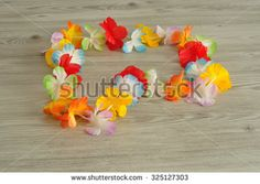 Hawaii Flowers Necklace Stock Photos, Images, & Pictures   Shutterstock