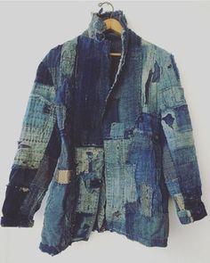 The Rareweaves Boro Blazer. Hippie Style, Denim Jacket Men, Bomber Jacket, Boro Stitching, Patchwork Jeans, All Jeans, Clothing And Textile, Jackett, Denim Outfit