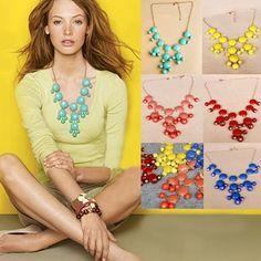 Hot Fashion Women Ladies Bubble Bid Statement Party Necklace Free Shipping | eBay