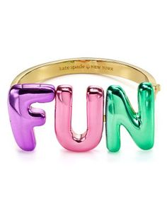 """kate spade new york Fun Bangle 
