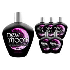 LOT 6 Rio New Moon Indoor Tanning Lotions TAN Enhancer Skin Firming Bronzer Bed by Rio. $75.50. Caffeine and Cocoa Butter; Extreme Bronzer; Tan Enhancer, Bronzer, Skin Firming; Long Lasting Skin Moisture; Fragrance:Floral Spa Essence. Rio introduces an energizing Dark Tanning lotion that will drive your tan further than ever before! The New Moon lotion is filled with extreme bronzers to jump start your tan with the darkest skin imaginable. Then it introduces caffeine to help...