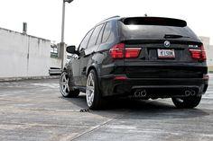 BMW, X5, Black, Back