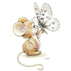druckversion maus ruth morehead - The world's most private search engine Cute Animal Drawings, Cute Drawings, Cute Images, Cute Pictures, Wallpaper Tumblrs, Maus Illustration, Baby Animals, Cute Animals, Cute Mouse