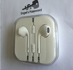 Iphone earpod original new Apple Logo, Iphone 4, Phone Accessories, Cable, Usb, The Originals, Lighting, Cabo, Light Fixtures