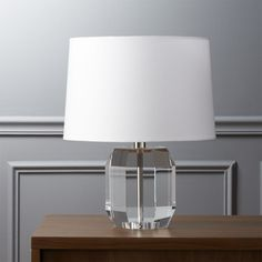 crystal clear. Clearly a gem, this prismatic lamp reflects light from every…