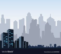 Big Town, Legally Blonde, Night City, Background Banner, City Art, Willis Tower, Banner Design, Vector Free, Posters