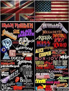 Metal Music Bands, Heavy Metal Music, Face C, Jethro, Music Logo, Judas Priest, Band Logos, Van Halen, Black Sabbath