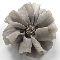 *2.5 Inches Ballerina Flower Clip