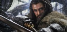 "(article) ""I almost thought at one point in the movie that Thorin was going to do the ""We few, we happy few"" speech from [Shakespeare's] Henry V —""   ""Balin says that in the flashback — we few that survived! It's very Shakespearean isn't it?"" // Nearly choked when I read that! I keep quoting that EXACT line whenever that scene comes up! Go Tom Hiddleston and his King Henry V for teaching it to me!!!!"