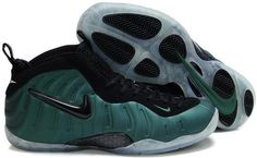 wholesale dealer 6738d 230e6 Nike Air Foamposite Pro Dark Green Black Nike Foamposite, Foam Posites, Nike  Basketball Shoes