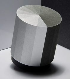 Jeongwon Ji's Tactile Sound is a small, cylindrical vibration speaker whose…