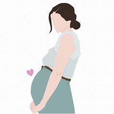 Pregnancy Announcement After Infertility - - Pregnancy Videos Second - - Pregnancy Photoshoot - Pregnancy Yoga Images Pregnancy Drawing, Pregnancy Art, Pregnancy Belly, Early Pregnancy, Pregnancy Videos, Mother Art, Quotes About Motherhood, Couple Wallpaper, Cartoon Art