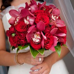cool vancouver florist #tbt to an all #red #bridal #bouquet. Photo courtesy @jasalynthorne #fiorirevancouver #vancouver #flowers #florist #orchids #roses #magnolia #wedding #diamonds #bride #pretty #vancouverweddings  #vancouverflorist #vancouverwedding #vancouverflorist #vancouverwedding #vancouverweddingdosanddonts