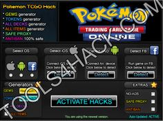 Pokemon TCG Online  Hack - 27.06.2014 Updated http://tools4hack.com/pokemon-tcg-online-hack-cheats-ios-android/