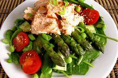 Paleo Salmon Sesame Seed Salad - Paleo Recipe Site | Paleoaholic