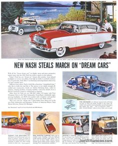 Ad for 1955 Nash