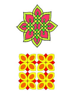 <p>Colour Rangoli Patterns for use with Beebot or displays. Topics also included: countries and cultures.</p>