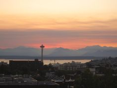 seattle, olympic mountains