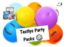 Its party time! Party Time, Tasty, Website