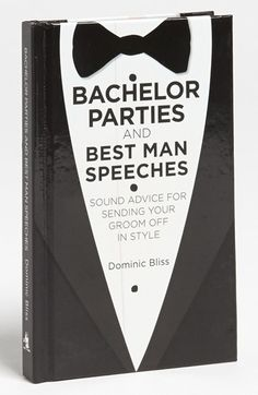 Sound advice for bachelor parties & best man speeches