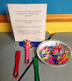 Abby the Librarian: Preschool Lab: Magnets