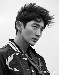 Lee Joon Gi: The Hottest, Most Handsome And Talented South Korean Actor And Entertainer: Lee Joon Gi and Marie Claire Korea July A Seismic Shift In Men's Fashion Asian Actors, Korean Actors, Korean Dramas, Lee Min Ho Hairstyle, Lee Joong Ki, Arang And The Magistrate, Man Lee, Joon Gi, Korean Star