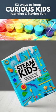 52 STEAM projects that kids will love. Get creative while learning important concepts. Great STEAM and STEM perfect for at home, after school or classroom teaching. Stem Projects, Science Projects, Projects For Kids, Kids Crafts, Stem Science, Science Experiments Kids, Science For Kids, Indoor Activities For Kids, Stem Activities