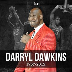 Longtime NBA center Darryl Dawkins, perhaps best known for his emphatic slam dunks, died Thursday at the age of Basketball Photos, College Basketball, Basketball Players, Darryl Dawkins, Chocolate Thunder, Kareem Abdul Jabbar, Magic Johnson, Sport Icon, Larry Bird