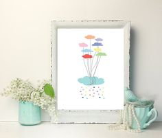Check out this item in my Etsy shop https://www.etsy.com/ca/listing/613775685/rainbow-balloons-rainbow-balloon-artwork
