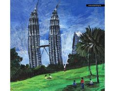 KLCC Painting Prints on Canvas by Tom Zoyah Product Code: KLCC007RZ-C Price : RM 48.00 Lets visit artpainting.my