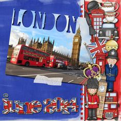 London digital scrap