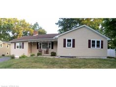 OPEN HOUSE * 10/5/2014 * 12-2PM 155 Amity, Meriden  $199,900 One level living at its best! Great neighborhood. This home features hardwood floors, an eat-in kitchen, 2 fireplaces, 2 full baths, large bedrooms, an open floor plan and central air.  The 4th bedroom is being used as a playroom/laundry room.  If you need more room there is a full walk-up attic with potential for finishing.  Newer windows and roof complete this wonderful home. Great level fenced back yard.
