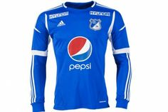Millonarios Home long-sleeved jersey Futbol Colombiano 37ff6a26459cd