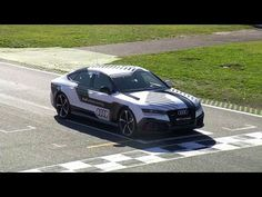 2014 Audi RS 7 Completes Hot Lap At Grand Prix Race Track Without Driver, 560 HP did 149 MPH without a driver on a full lap