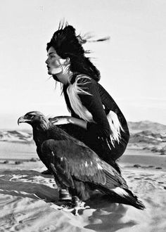 2011. Mongolia. British Vogue. Model Kirsi Pyrhönen. By Photo by Tim Walker (B1970)