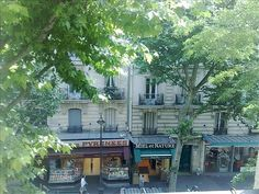 20th Menilmontant apartment rental - View from the lounge cheap